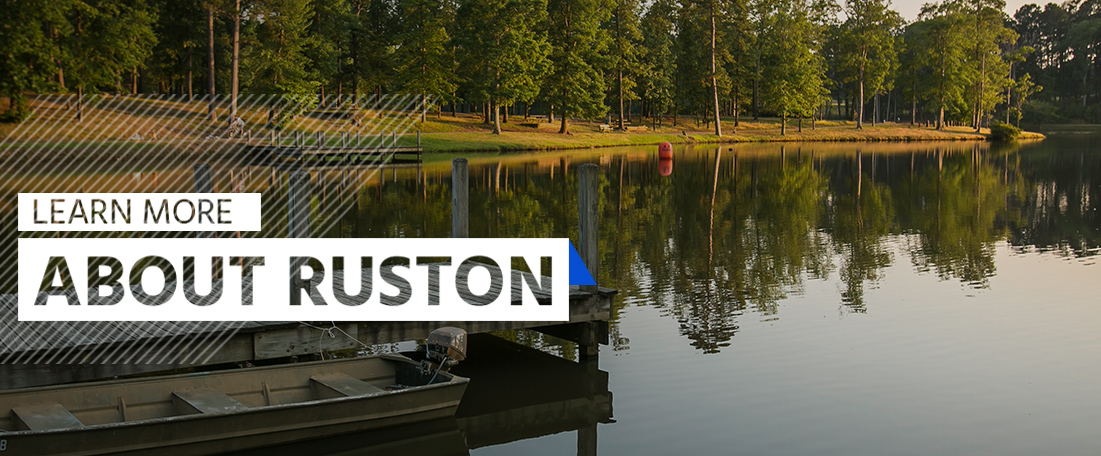 Learn more about Ruston, Louisiana