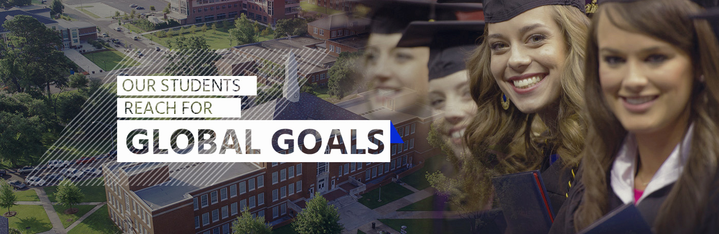 Our students reach for global goals header image
